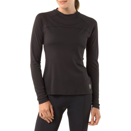 Fitness Ideal for cold, windy days and winter riding, the body-hugging women's Novara Base Layer long-sleeve top adds warmth under your bike jersey. - $13.83