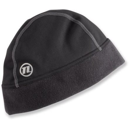 Fitness On cool, breezy days you'll be glad to have the warm Novara Thermal Tech Beanie under your bike helmet. With 4-way stretch and a supersoft fleecy interior, fabric offers great stretch and insulating properties. Beanie design fits close to your head and doesn't impede helmet fit. Reflective logo. - $19.50