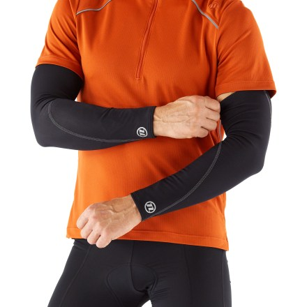 Fitness Our Novara Thermal Tech arm warmers add warmth when you need it. They are easy to stash and a lifesaver on rides that start out chilly but end up warm! - $11.83