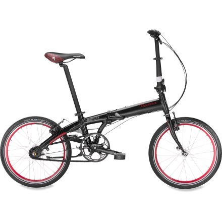 Fitness Our Novara FlyBy is a nimble, take-it-everywhere folding bike. Lightweight yet sturdy, it has 7 internal gears. Ride it, fold it, then stash it in the trunk, closet or office. - $388.93