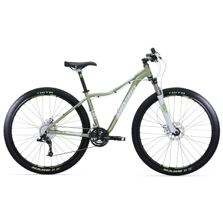 MTB The Novara Madrona is an obstacle-eating 29er built for women. Responsive, nimble and outfitted with hydraulic disc brakes, its sturdy frame, Suntour XCR fork and burly tires tame the trail. - $478.83