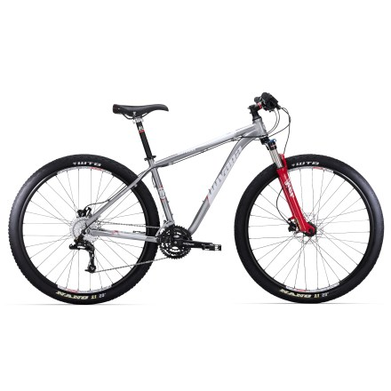 MTB Our Novara Matador 29er hardtail mountain bike is a big-wheeled 29er fun machine. Responsive and nimble, it's outfitted with hydraulic disc brakes and a plush 80mm fork. - $478.83