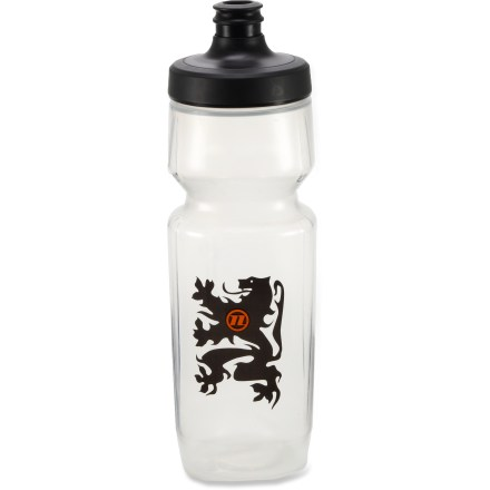 Fitness Novara Purist Hydroflo water bottle delivers pure-tasting water fast and easy thanks to a comfortably held, super-squeezable design and high-flow, self-sealing cap. - $5.83