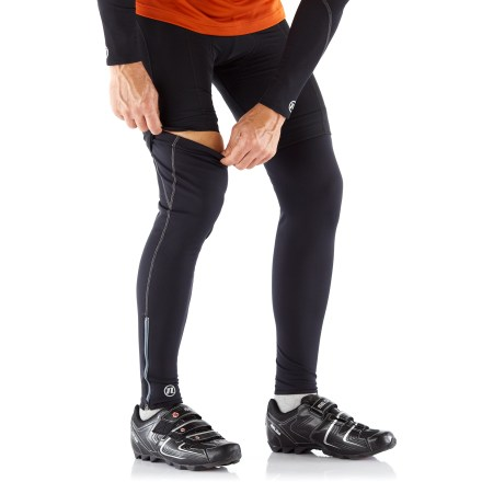 Fitness Our Novara Thermal Tech leg warmers add warmth when you need it. They're easy to stash and a lifesaver on rides that start out chilly but end up warm! - $18.83
