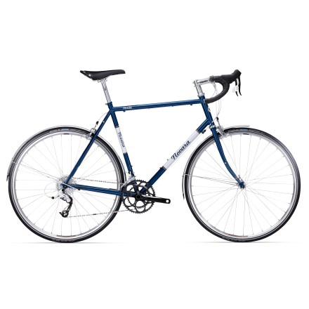 Fitness A road bike that's ideal for light touring, the Novara Verita sports a streamlined 20-speed drivetrain with a gear range like a triple. Offers easy spinning on tours, commutes and long weekend rides. - $648.83