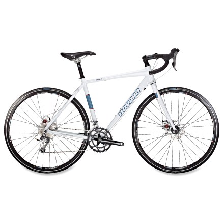 Fitness Take the versatility of a commuter bike and infuse it with the sportiness of a road bike and you get our Novara Zealo. With sturdy tires, disc brakes and 20 speeds it's a quick, reliable road ride. - $598.83