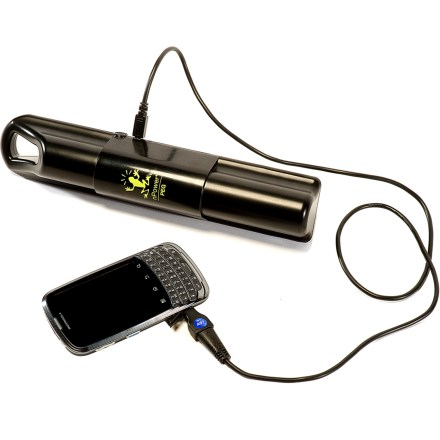 Camp and Hike The nPower PEG personal energy generator captures and stores the kinetic energy created from walking, running and biking and uses it to recharge your mobile electronic devices. - $96.93