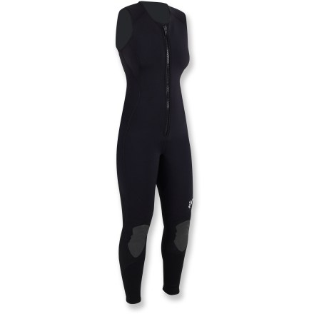 Kayak and Canoe The 3.0 Farmer Jane Wetsuit from NRS is designed to fit the female body and enhance your warmth in frigid waters. - $99.93