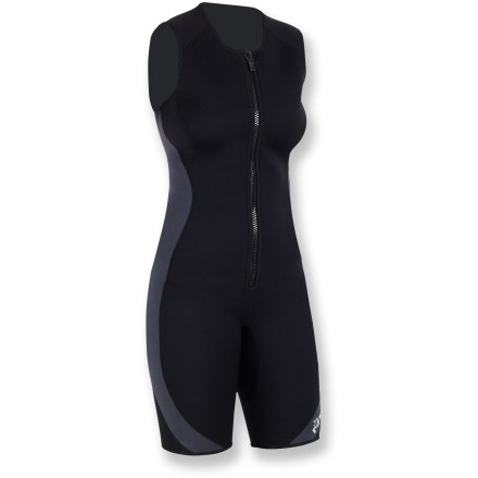 Kayak and Canoe The NRS Little Jane 2mm wetsuit lets you play in the water without worrying about getting chilled. - $64.93