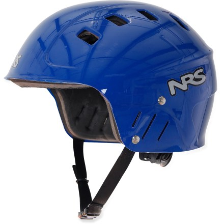 Kayak and Canoe The NRS Chaos Full Cut Whitewater helmet help protect your ears from splashes and, should you ever need it, unintended impacts. - $24.83