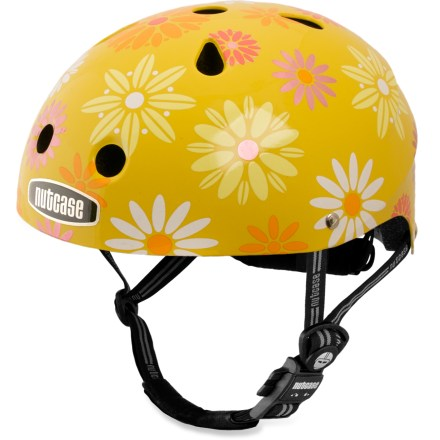 MTB With plenty of fun designs, the Nutcase Little Nutty bike helmet adds a bit of extra colorful flair to riding adventures. - $44.93