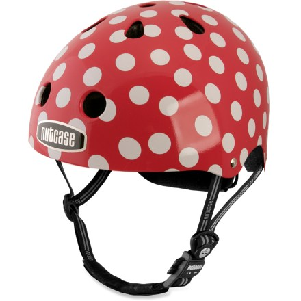 Fitness With personality aplenty, the Nutcase women's bike helmet offers great protection and multiple designs to match your whim. - $25.93