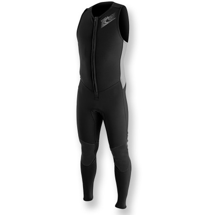 Kayak and Canoe Whether you're paddling, surfing or just playing around water, the O'Neill Superlite Farmer John wetsuit will help keep you warm. - $44.83