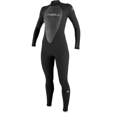 Kayak and Canoe The women's O'Neill Reactor 3/2mm full wetsuit pairs reliable warmth with excellent value. - $114.95