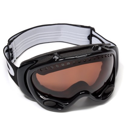 Ski Get superior clarity and glare reduction with Oakley A-Frame polarized ski goggles. - $143.93