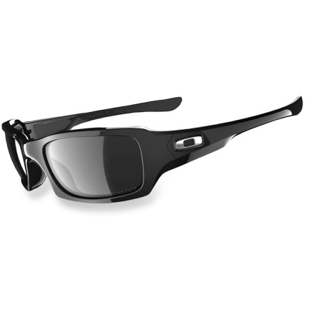 Entertainment Grace your face with the elegant styling and fantastic performance of the Oakley Fives Squared sleek polarized sunglasses. - $140.00