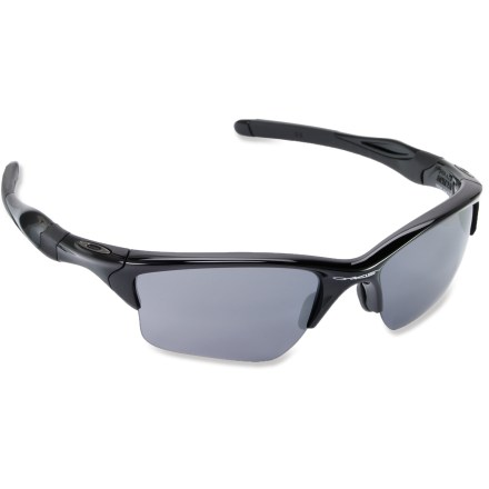 Camp and Hike For increased protection and expanded coverage, Oakley Half Jacket 2.0 XL sunglasses combine cool style and clarity. - $120.00