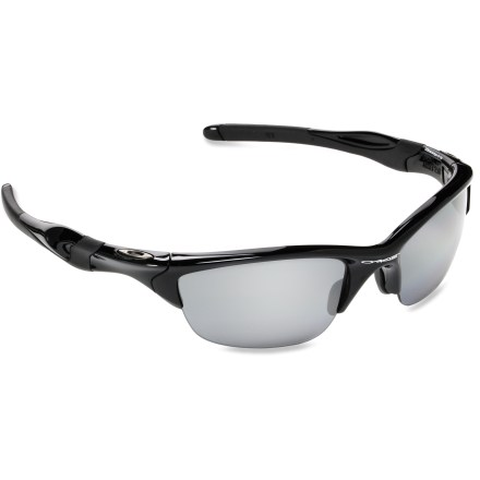 Camp and Hike All-day comfort in a lightweight design, Oakley Half Jacket 2.0 polarized sunglasses combine style and clarity for all your outdoor activities. - $180.00