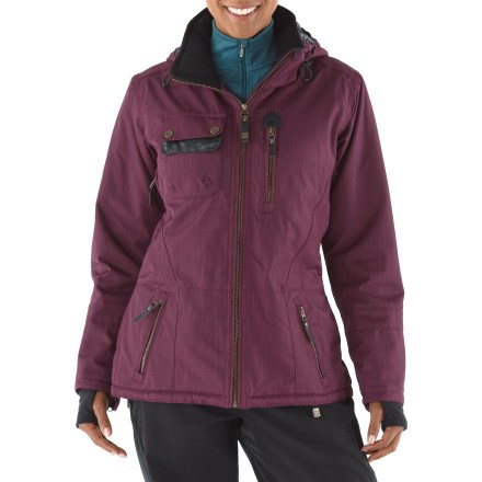 Ski A must for mountain trendsetters, the Obermeyer Delaney insulated women's jacket is packed to the hilt with features so you can stay warm while schussing or shopping. - $119.83