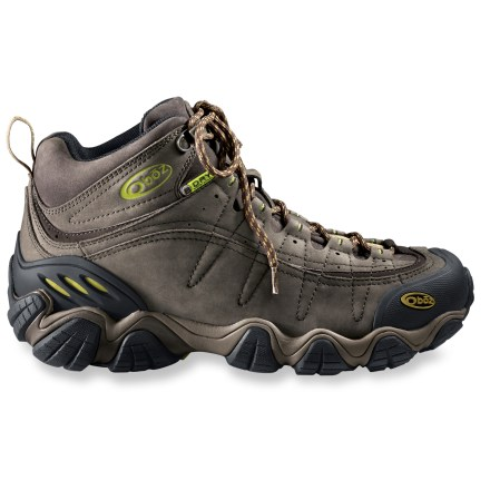 Camp and Hike Set out for the trails knowing your feet will be in good care with the Oboz Yellowstone II hiking boots, which boast waterproof construction and a lightweight, nimble platform. - $36.83
