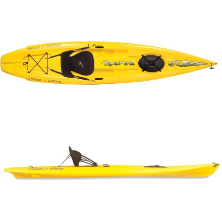 Kayak and Canoe The versatile Ocean Kayak Nalu(TM) 12 ft. 5 in. stand up paddleboard bridges the gap between a sit-on-top and and a paddleboard. - $749.95