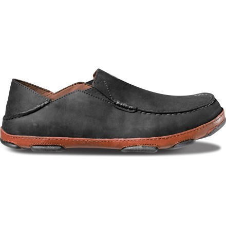 From boardwalk to boardroom, the premium leather OluKai Moloa shoes are masters of versatility. They convert from lazy day slides to sophisticated shoes capable of turning heads while out on the town. - $120.00