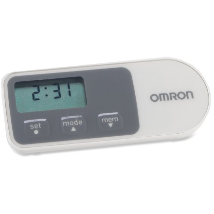Fitness Increasing your activity level is a great way to improve your health and reduce stress. Let the accurate and simple Omron HJ-320 Tri-Axis pedometer help you meet your goals. - $23.00