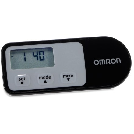 Fitness Specially designed for power walking and aerobic exercise, the Omron HJ-321 pedometer counts normal steps and aerobic steps, as well as distance traveled and calories burned. - $27.00