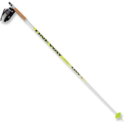 Ski Set your young cross-country racer up with the Oneway Diamond Storm junior ski poles. - $19.93