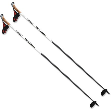 Ski Complete your performance ski package with the lightweight Rossignol X650 cross-country ski poles. - $29.93