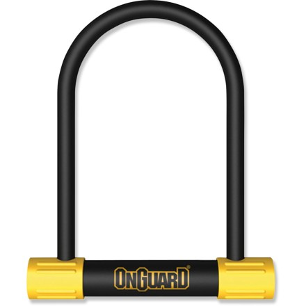 Fitness The OnGuard Bulldog STD U-lock delivers moderate security for your bicycle, resisting many types of attacks to help keep your beloved ride protected. - $34.95