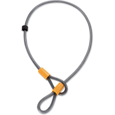 Fitness Flexible and convenient, the OnGuard Akita 4 ft. cable enhances your locking options when it comes to securing your bicycle. - $8.95
