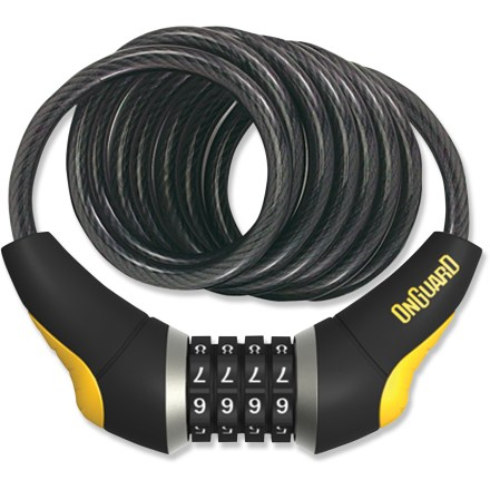 Fitness This OnGuard Doberman Combination cable lock uses a 10mm cable to balance weight, flexibility and convenience when securing your bicycle. - $22.95