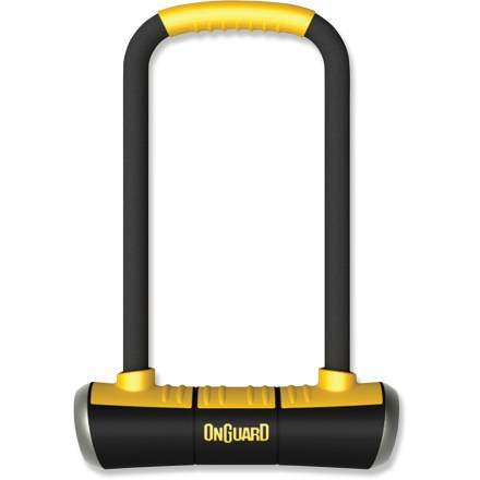 Fitness The versatile OnGuard PitBull Mini LS U-Lock combines a long shackle length with a mini-size crossbar for a long-n-lean lock design that offers great security. - $54.95