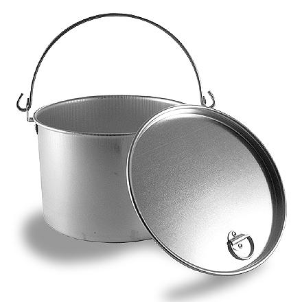 Camp and Hike This durable, heavy-duty aluminum 2 qt. kettle stands up to the rigors of the backcountry. - $15.95
