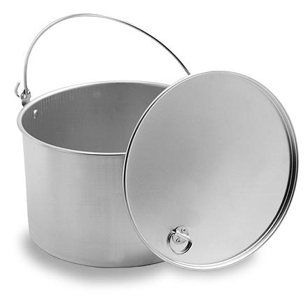 Camp and Hike This durable, heavy-duty aluminum kettle stands up to the rigors of the backcountry. - $17.95
