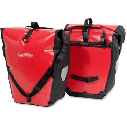 Fitness With 3D welded seams, these panniers will keep your gear dry on rainy rides. - $113.93