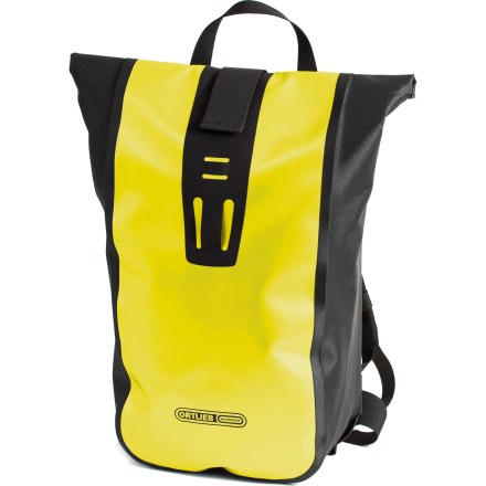 Fitness Ortlieb Velocity is a messenger-style waterproof daypack featuring a comfortable foam-padded back. - $115.00