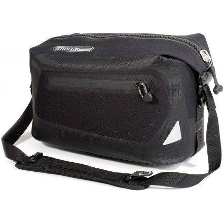 Fitness The Ortlieb Trunk bag offers robust protection against the elements and easy access to your riding essentials. Plus, it offers easy off-bike carrying thanks to the included shoulder strap. - $107.93