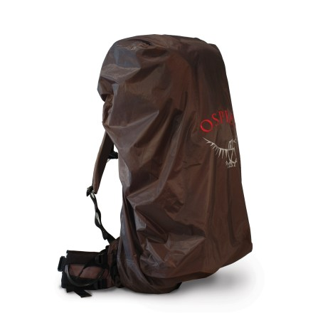 Camp and Hike Even when you're getting soaked, keep your pack and its contents dry with the lightweight, waterproof Osprey UL raincover, available here in a medium size. - $24.93