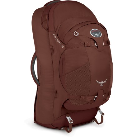 Camp and Hike For those trekking the world 'round, the Osprey Farpoint 70 travel pack offers long-haul comfort in a streamlined, convenient design for adventures to the far points of the globe. - $99.93