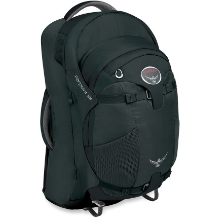 Camp and Hike The Osprey Farpoint 55 travel pack is built to take you to the far points of the globe, with the comfort of a long-haul pack and savvy convenience of a streamlined traveler. - $125.93