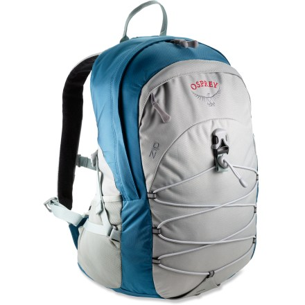 Camp and Hike The kids' Osprey Zip 25 pack sports legendary Osprey technical design and quality in an everyday pack that bridges the gap between hauling school books and day hikes on the weekend. - $29.93