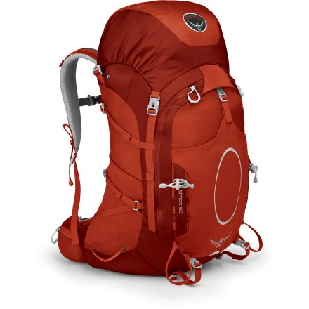 Camp and Hike Expertly blending light weight, ventilation and comfort, the smallest of the Atmos line delivers a fully adjustable torso and suspension system for enhanced weight distribution and speed on the trail. - $156.93
