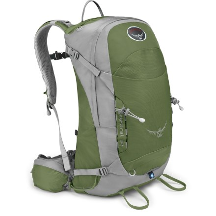 Camp and Hike The Osprey Kestrel 32 pack sports a svelte design with lightweight materials and all the features you need for done-in-a-day climbing, cragging and other outdoor adventures. - $74.93