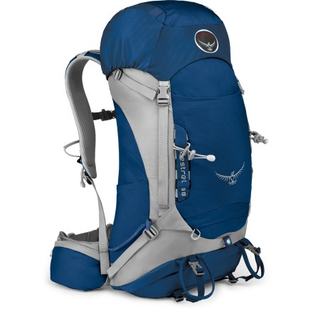 Camp and Hike The sleek Osprey Kestrel 38 pack sports a technical design with an adjustable torso and lightweight materials, making it an ideal pack for long days or quick overnight adventures. - $79.93