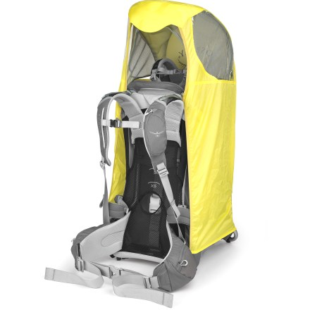 Camp and Hike The Osprey Poco raincover works in conjunction with the Poco Sunshade (sold separately) to help protect little riders from the elements when riding in your Poco child carrier (sold separately). - $13.93