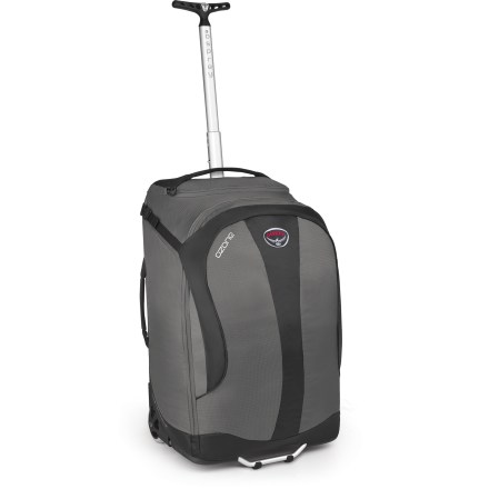 Entertainment Expand your travel horizons with this nimble carry-on bag. Osprey has channeled years of experience building lightweight packs and luggage into this fresh design. - $114.93