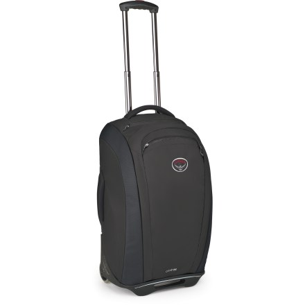 Entertainment The Osprey Contrail 22 wheeled luggage offers the frequent traveler a complete package. This highly organized roller offers clean, cosmopolitan good looks and 2 removable organizer components. - $299.95