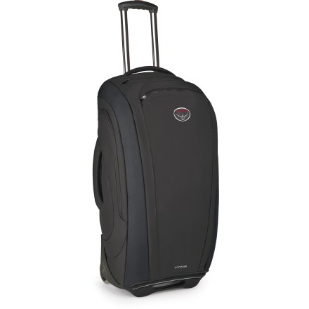 Entertainment The Osprey Contrail 28 wheeled luggage offers the frequent traveler a complete package. This highly organized roller offers clean, cosmopolitan good looks add 2 removable organizer components. - $339.95
